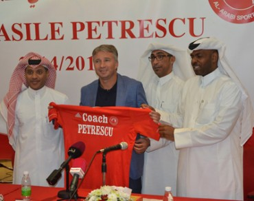 Petrescu unveiled as Al Arabi coach