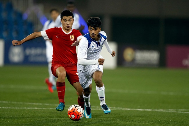 AlKass International Cup: Aspire Academy 1-1 Guangzhou Evergrande
