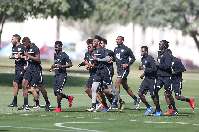 KAS Eupen in Doha for their winter training camp