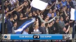 Belgium Pro League: Club Brugge 3-2 Eupen