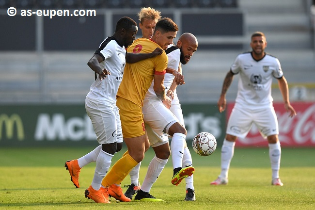 Eupen beat Tubize in their final pre-season friendly