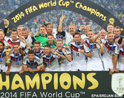 Germany are the World Cup champions