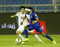 El Enezi stunner seals late victory for Kuwait