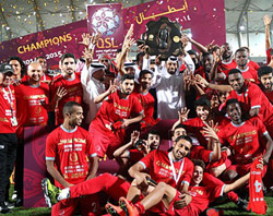Lekhwiya are the 2014-15 QSL Champions