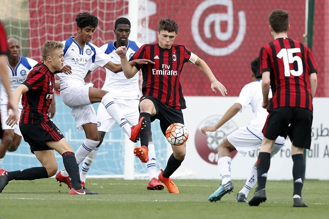 2018 AlKass International Cup: AC Milan beat Aspire Academy to take seventh place