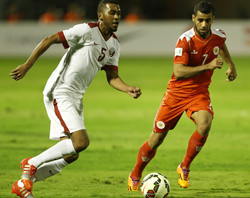 Qatar through to semis