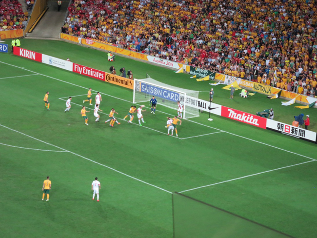 Socceroos vs China AC QF 22 Jan 2015 062