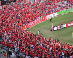 The Asian Cup Diaries: National capital turns red