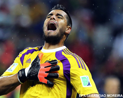 Romero leads Argentina to the final